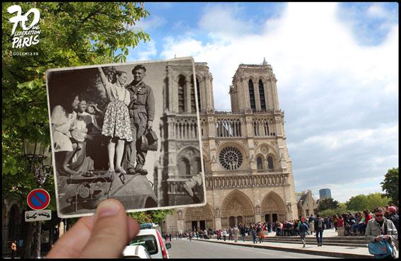 Foto di Knez Julien - Parigi Notre-Dame 1944