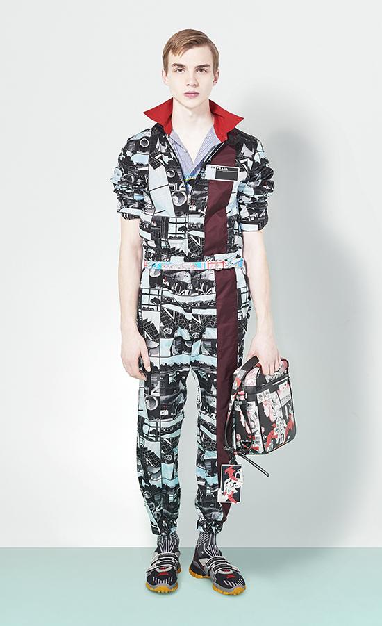 Prada moda masculina
