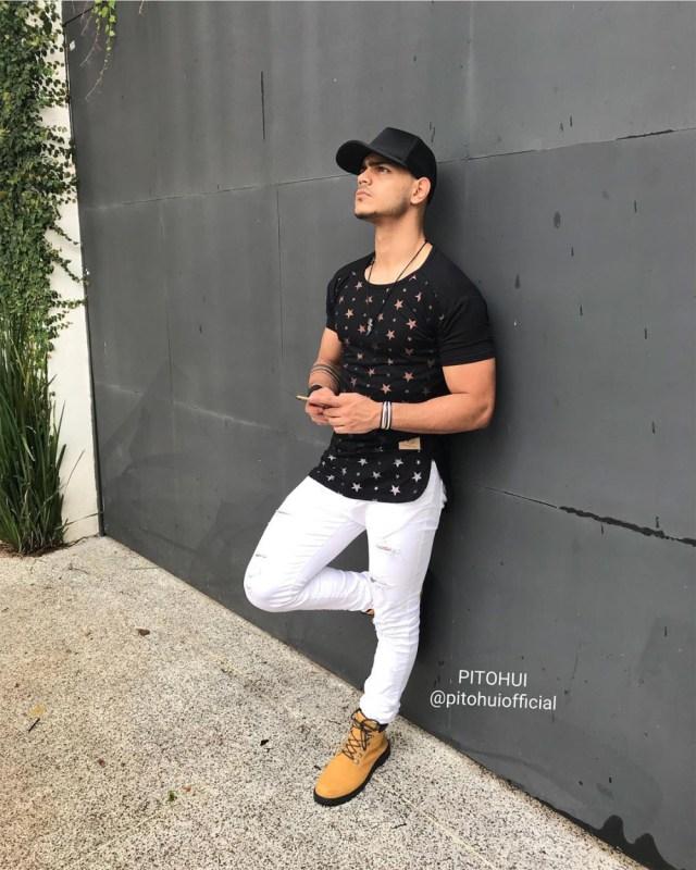 outfit masculino com bota