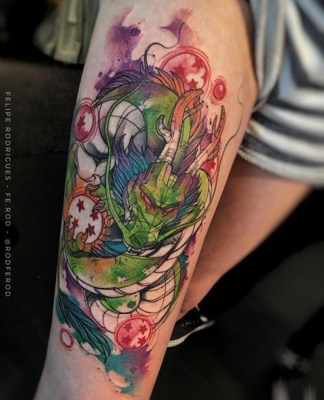 Tatuagem do Shenlong