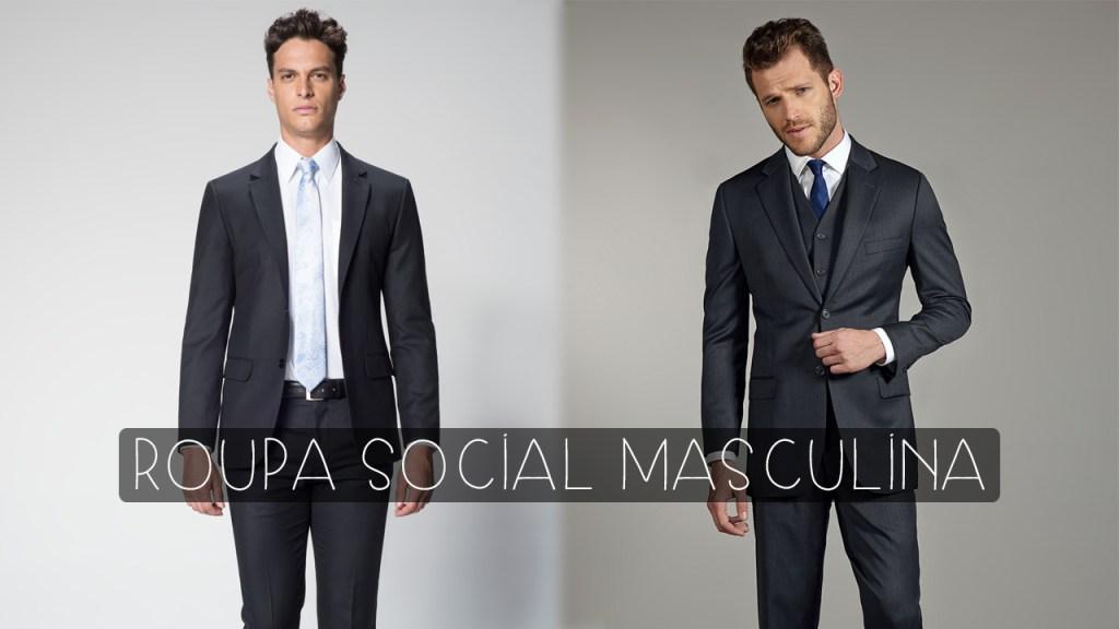 roupa social para homens