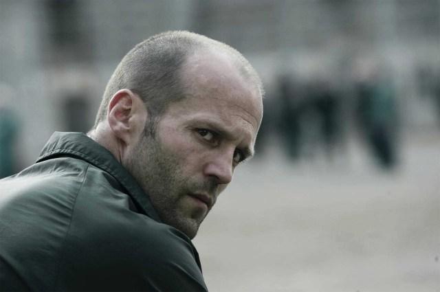 Jason Statham é um ator calvo