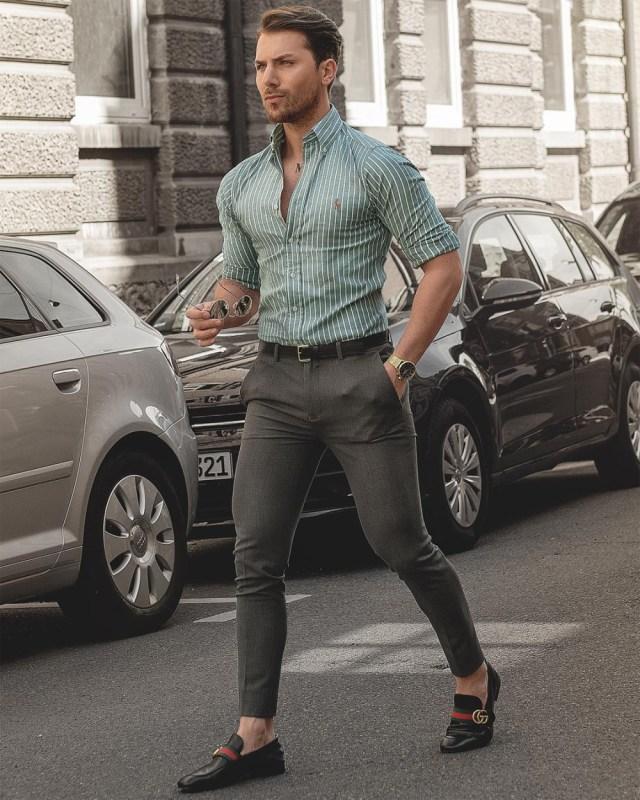 Look masculino esporte fino