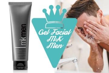 Gel de limpeza facial MK Men