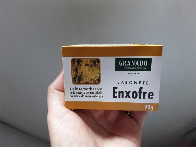 Sabonete de enxofre da Granado para acnes