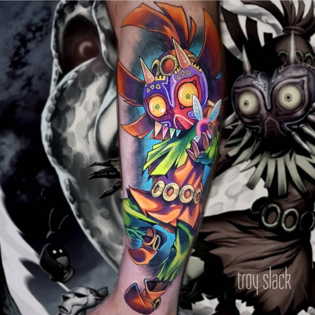 Tatuagem masculina colorida color tattoo