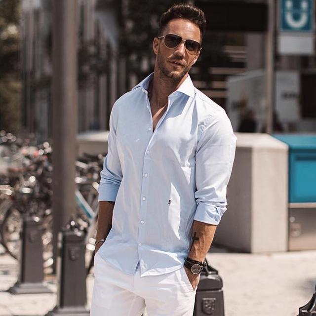 Camisa masculina para usar no Réveillon