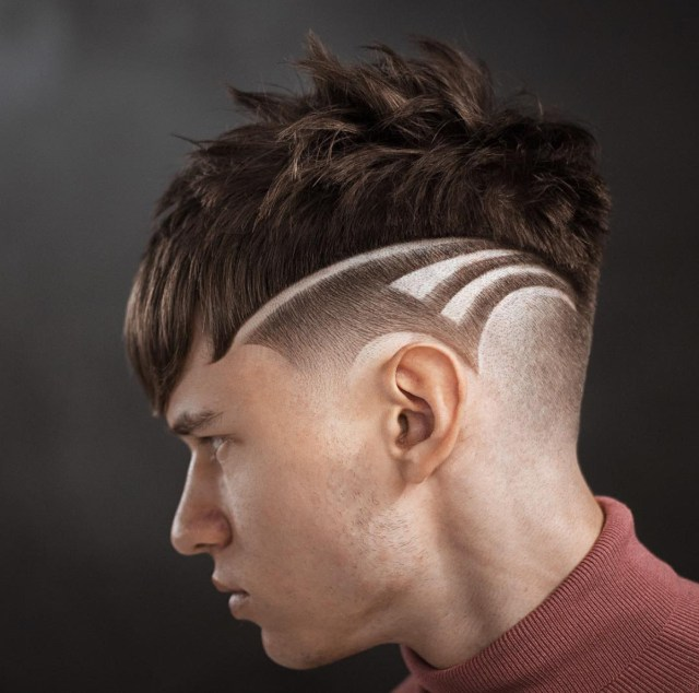 Designed Haircut for men