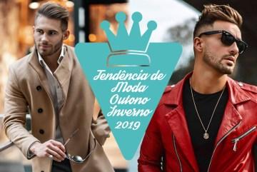 Moda masculina outono inverno 2019