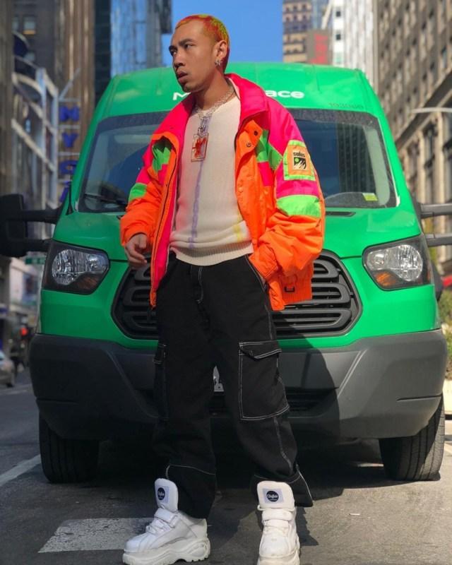 Outfit masculino com referência anos 90