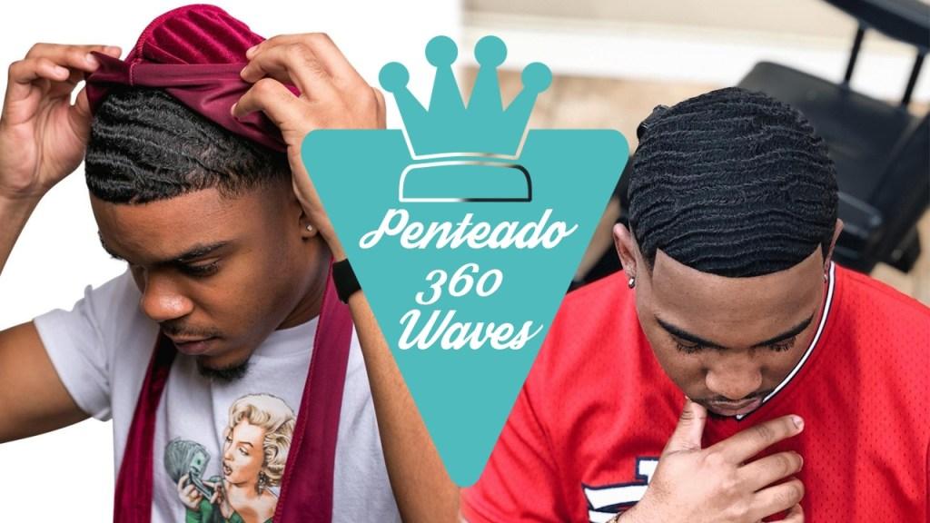 Como fazer o Penteado 360 Waves
