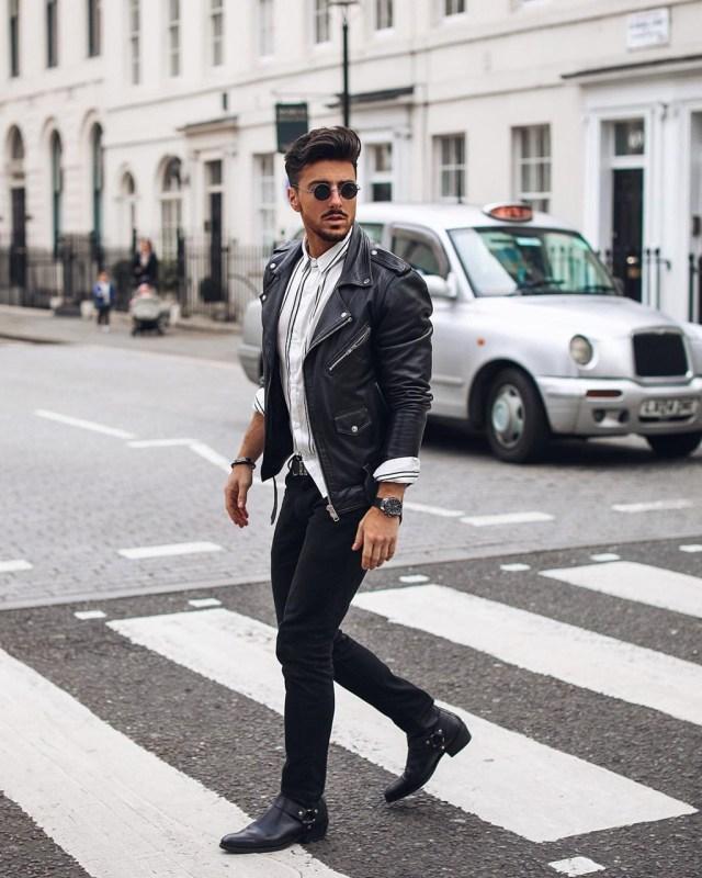 Outfit masculino de inverno com jaqueta Perfecto