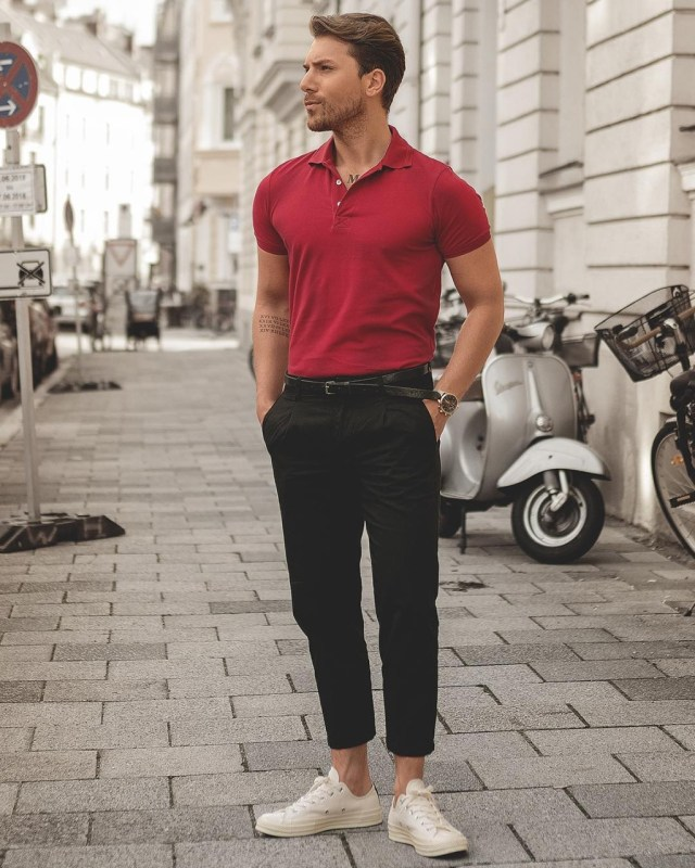Look masculino casual com Polo