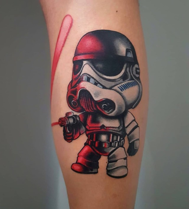 Tatuagem New School Stormtrooper