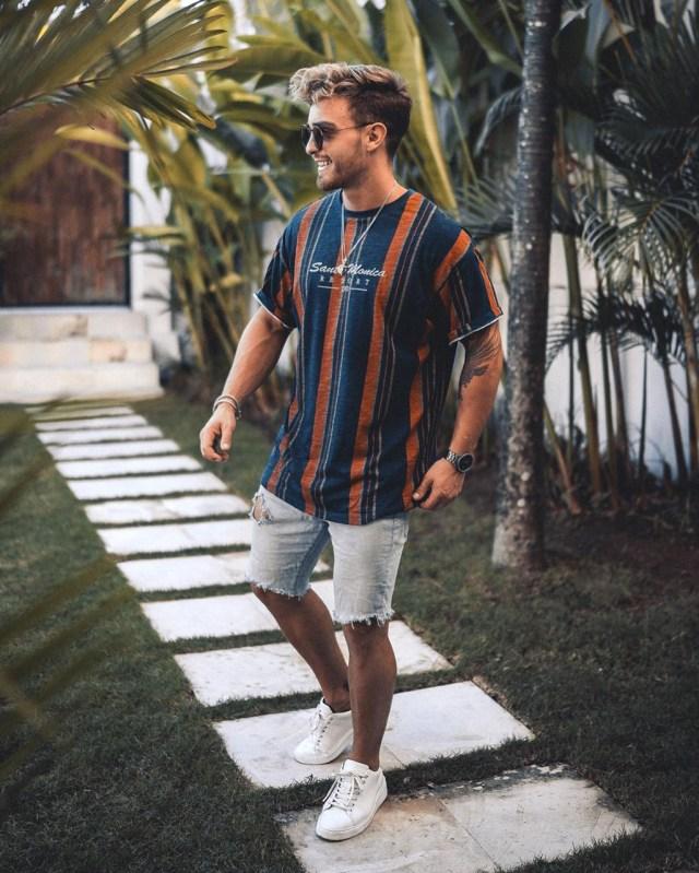 Moda masculina: roupa de primavera