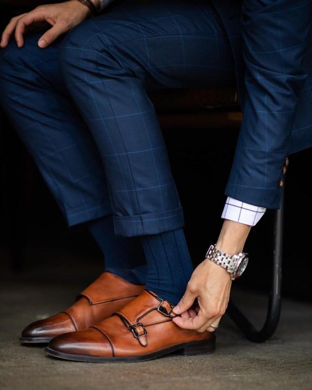Moda masculina: sapato Monk Strap