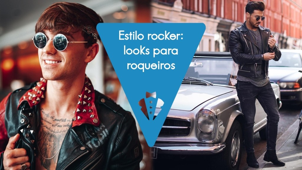 Looks masculinos no estilo rocker