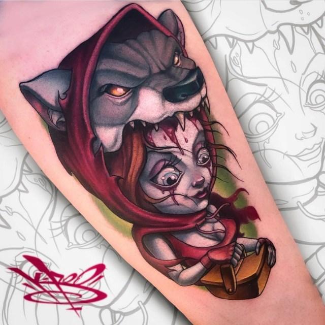 Tattoo for men: New School