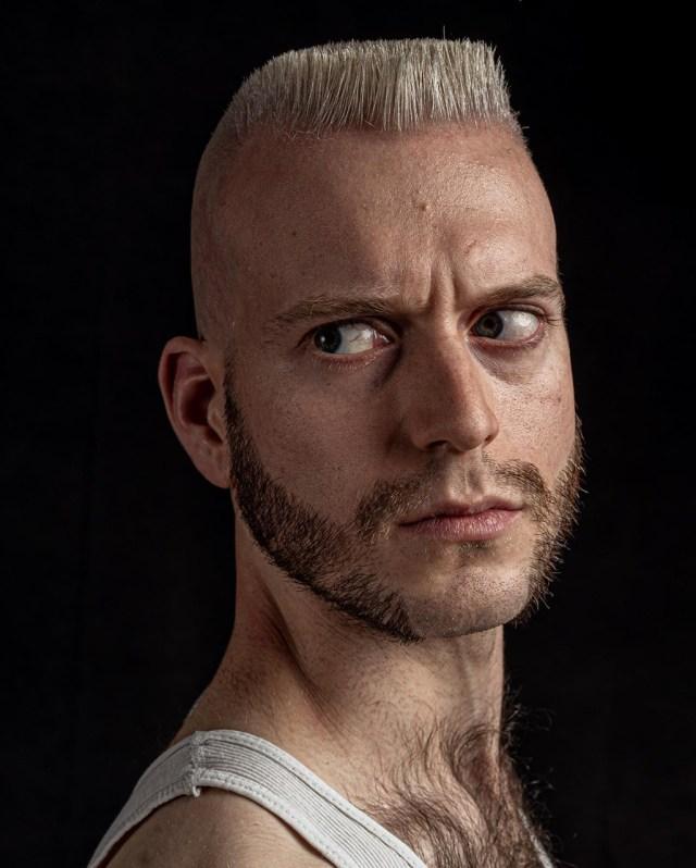 Corte de cabelo masculino Flat Top