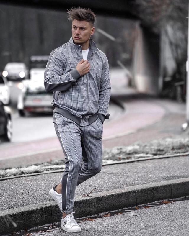 Moda masculina: looks com estampa xadrez