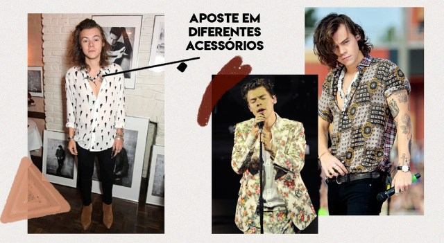 Moda masculina - Estilo do Harry Styles