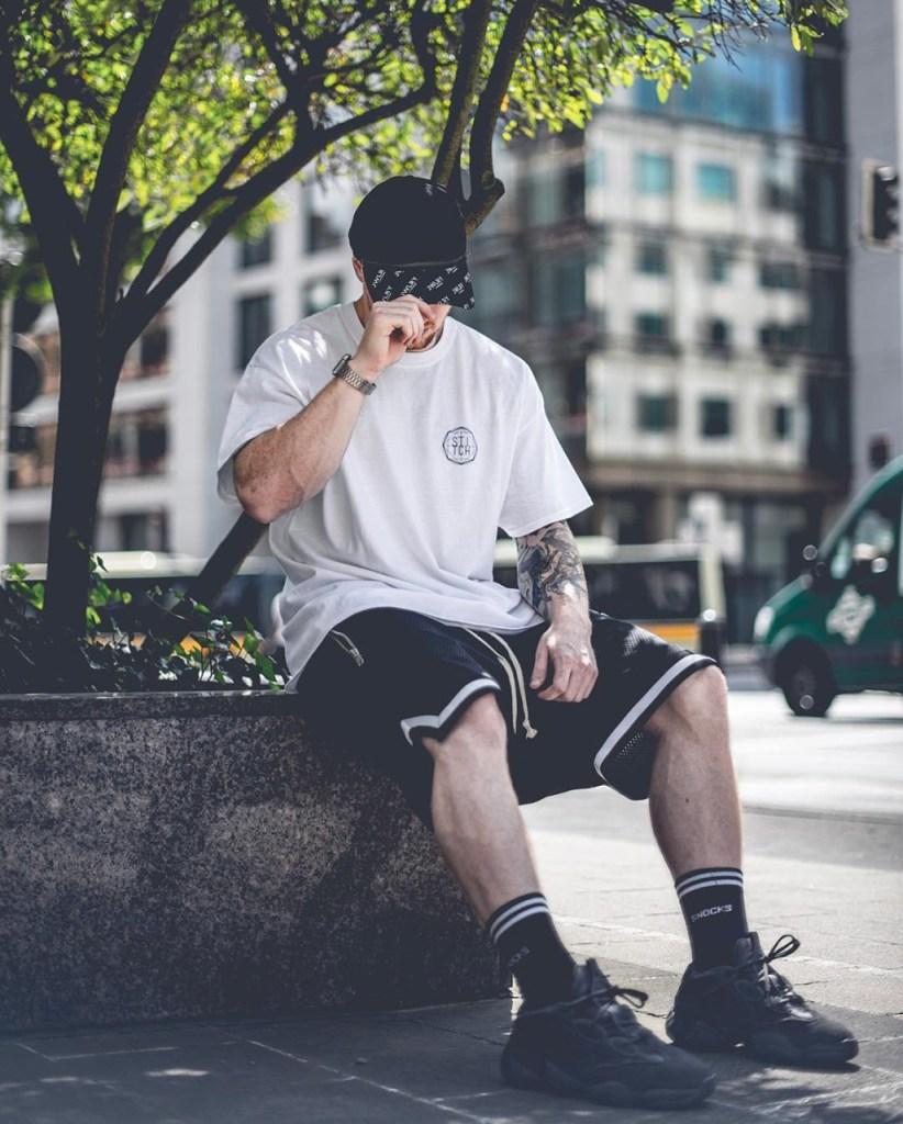 Street style: bermuda jersey