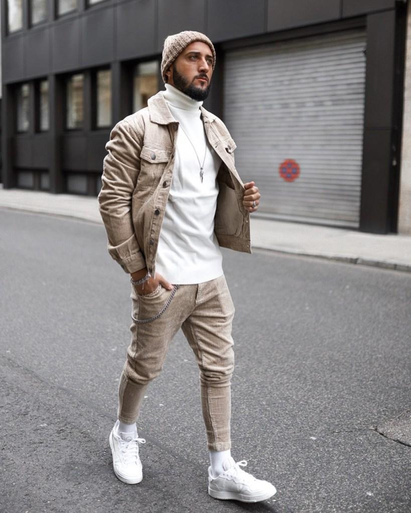 Fashion for men: turtle neck