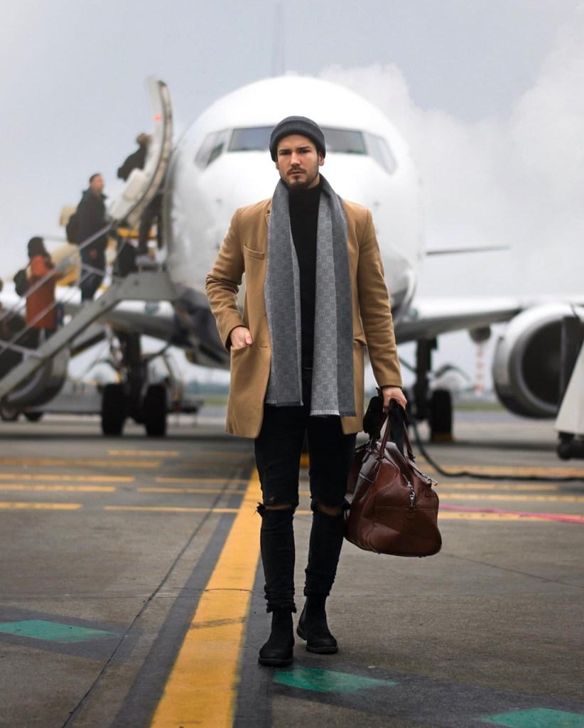 Moda masculina outono-inverno 2020: bolsa de mão