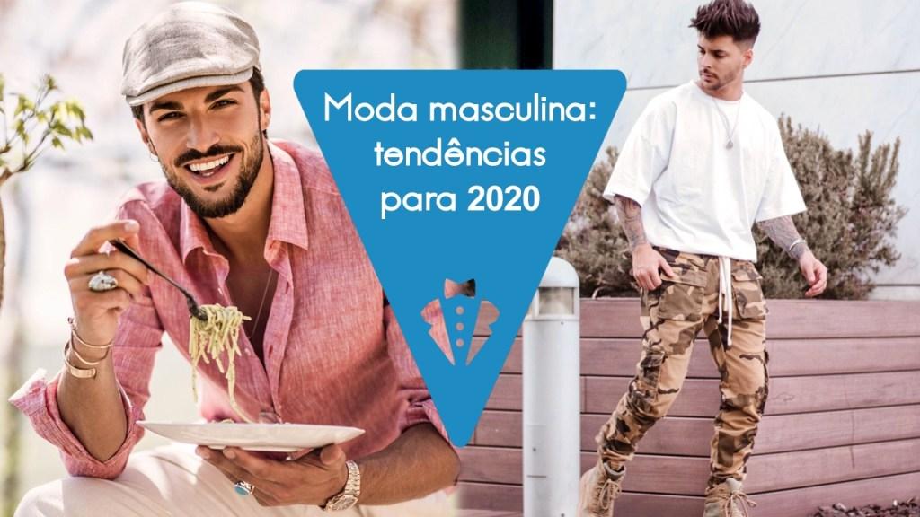 Tendências de moda masculina para 2020