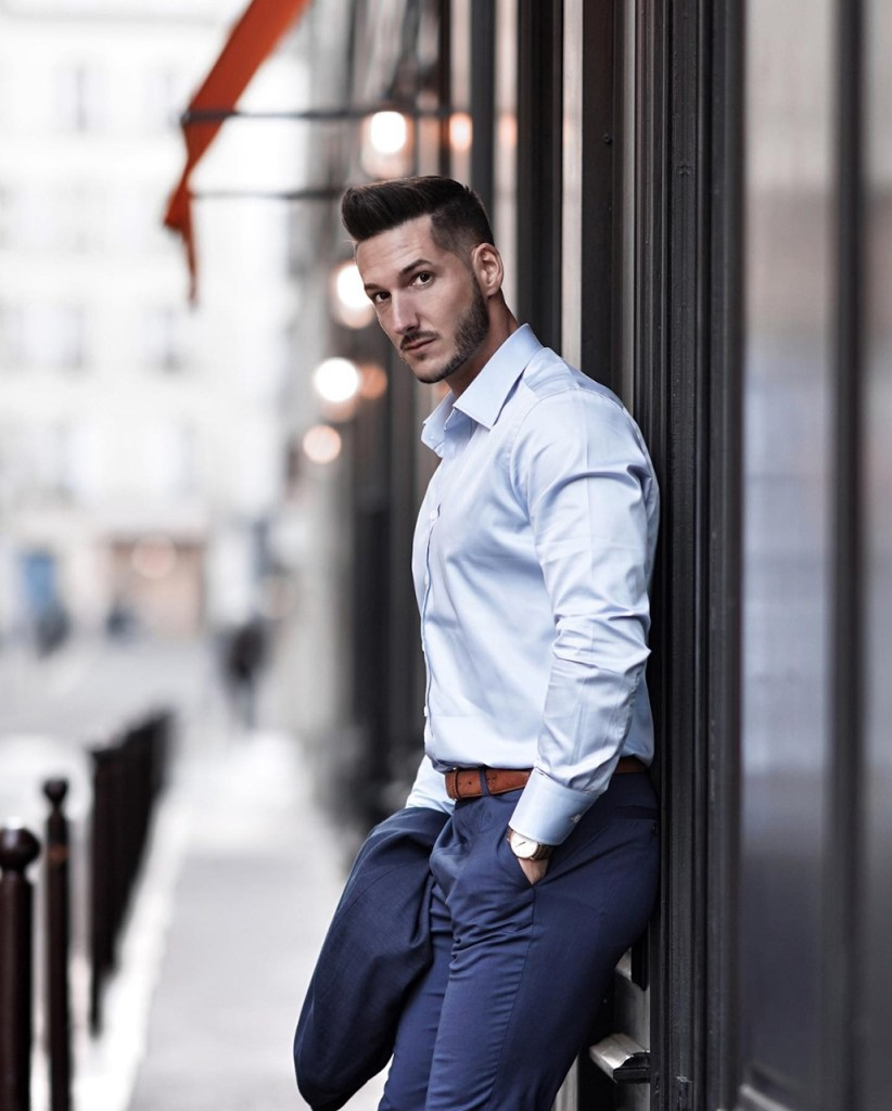 Moda masculina: outfit casual chic