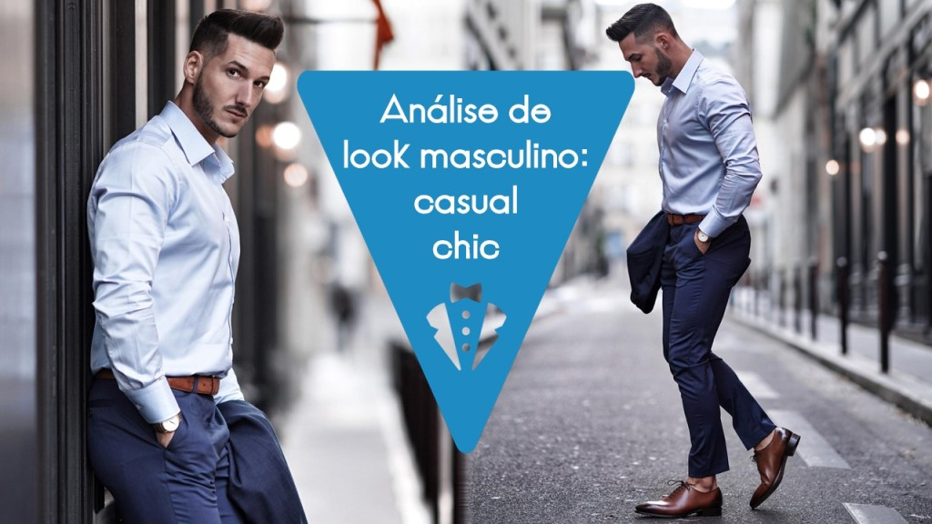 Análise de look masculino 16 casual chic
