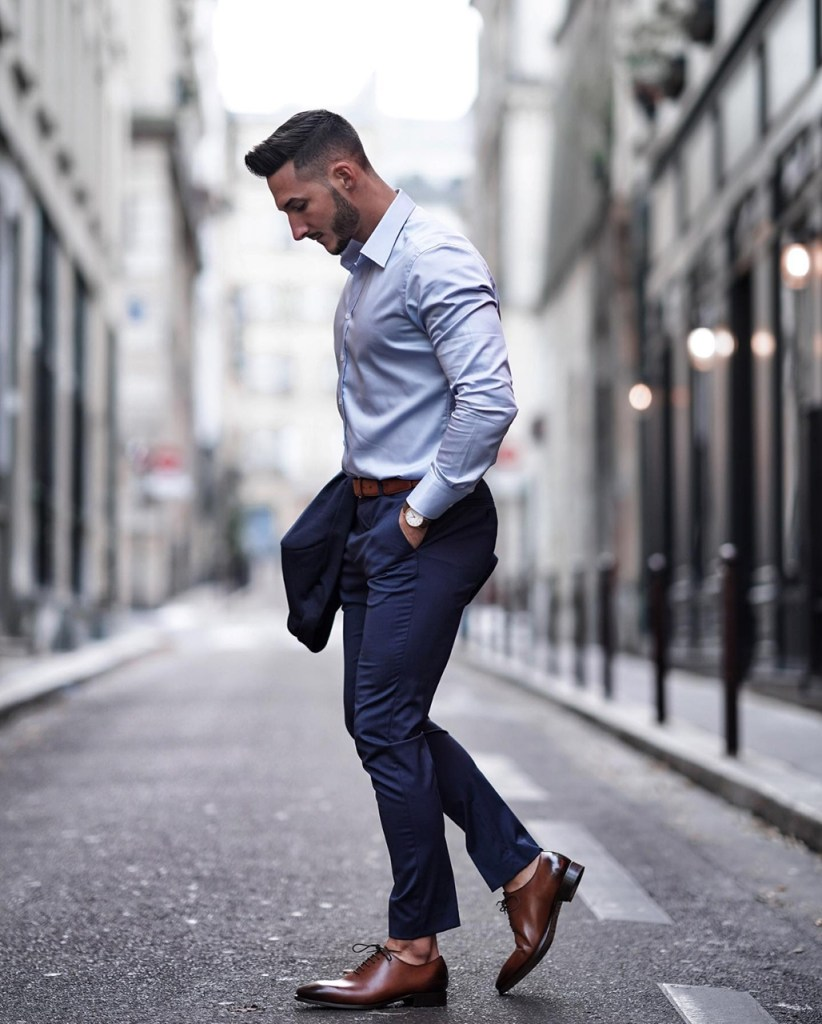 Moda para homens: roupa elegante