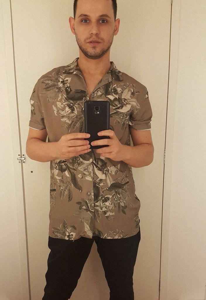 Blogueiro de moda masculina Marco Macei