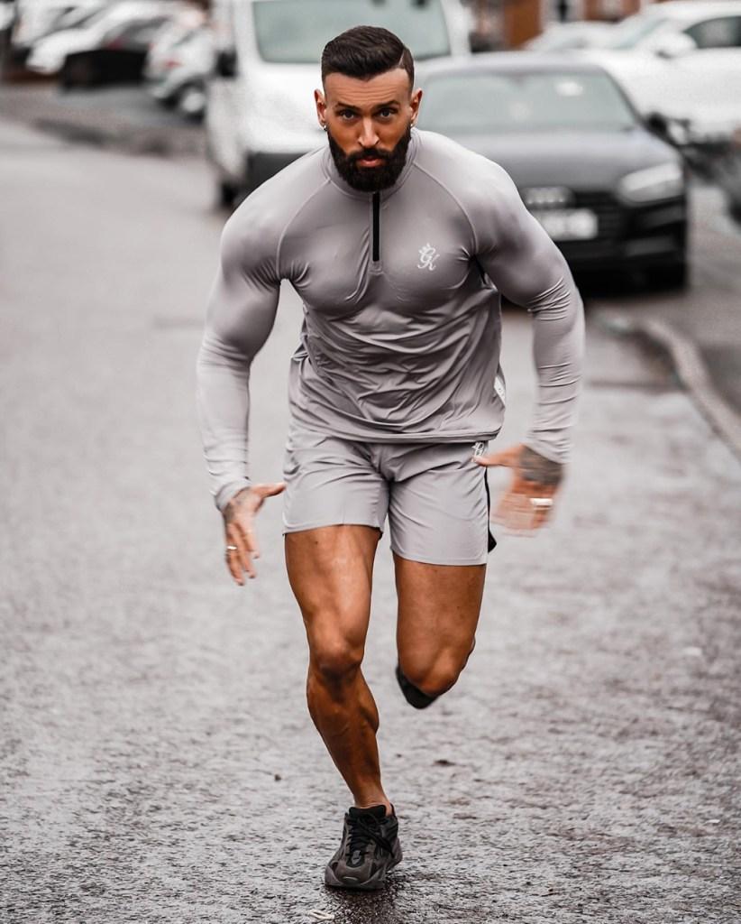 Moda masculina: roupa de academia