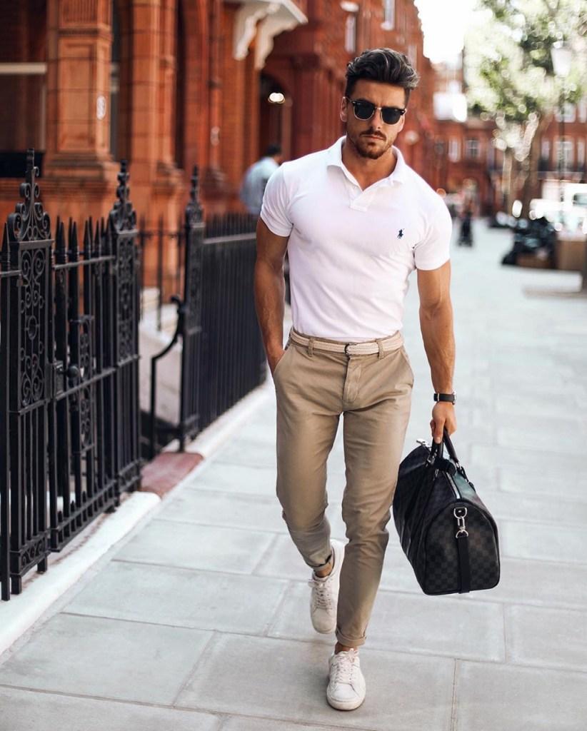 Moda masculina: camisa polo
