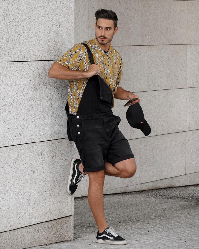Outfits masculinos de primavera-verão