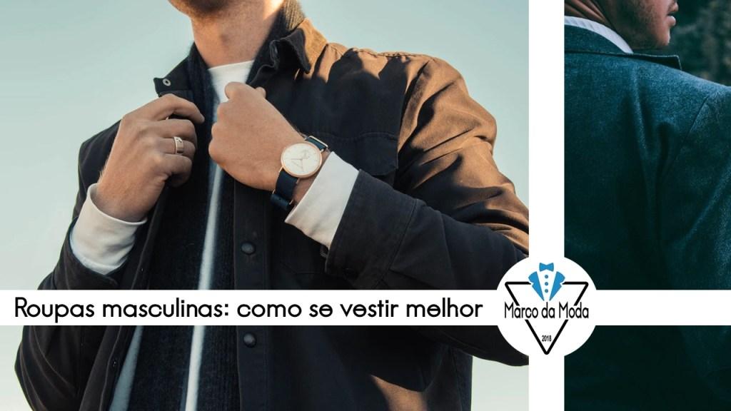 Roupas masculinas: dicas de moda