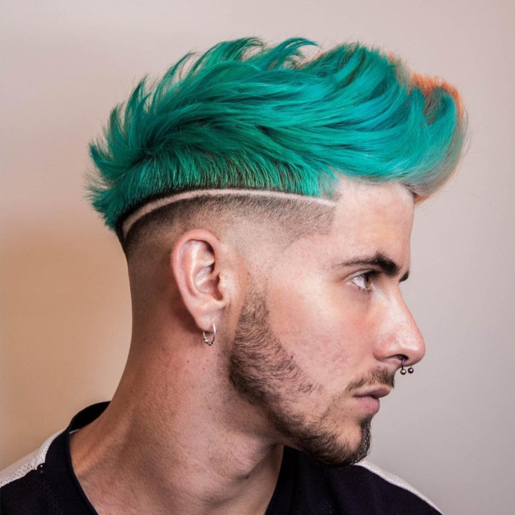 Candy Colors hairstyle for men