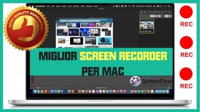 miglior screen recorder per mac