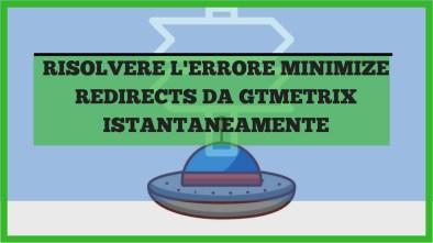 minimize redirects da gtmetrix