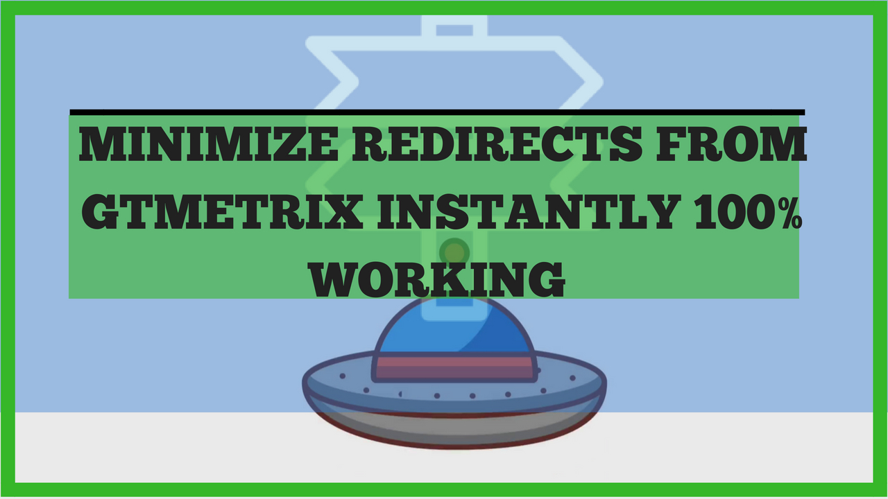 Minimize Redirects From GTmetrix 100% Working | Pause CloudFlare