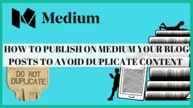how to publish on medium