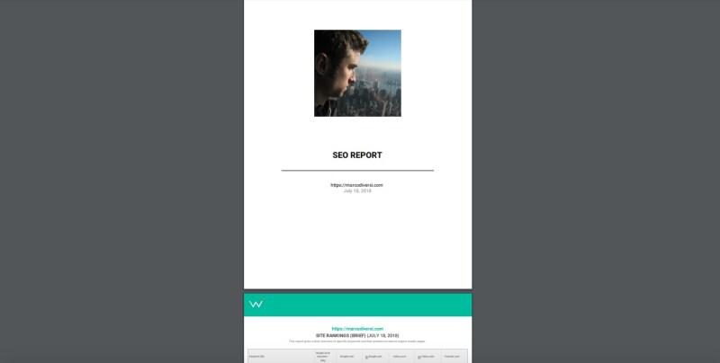 seo report marcodiversi