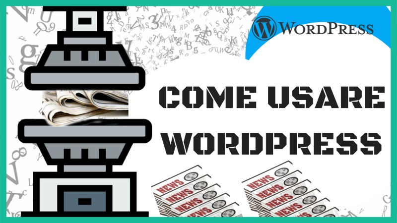 come usare wordpress