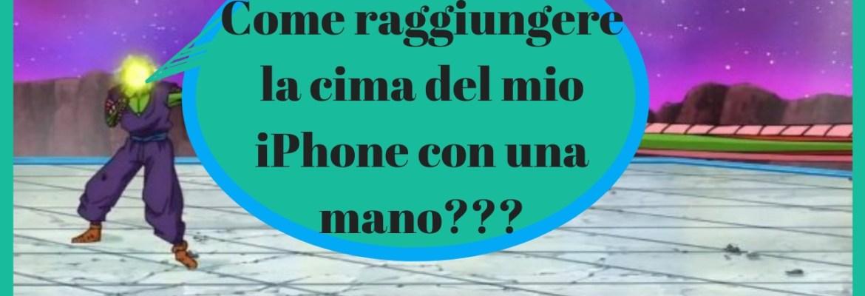 accesso facilitato iphone