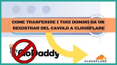 trasferire domini su cloudflare