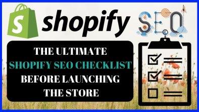 shopify seo checklist