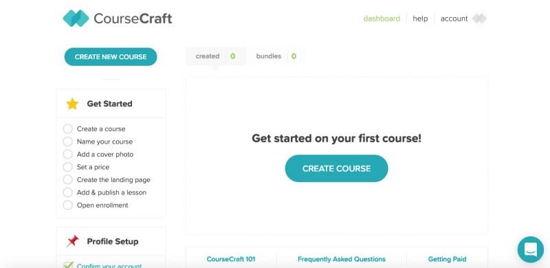 coursecraft create a course
