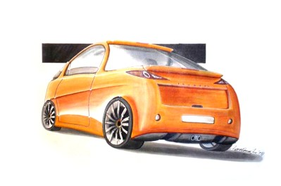 Orange City Concept Rear