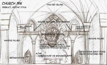 Church Context Sketch - Marc